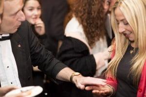 Hire Wedding magician London Magic OZ