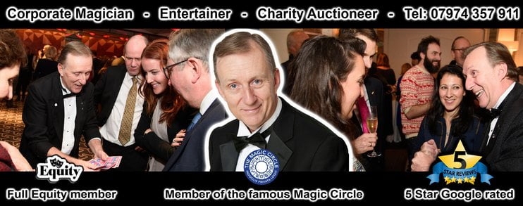 Corporate Magician London for all your company events Magic OZ